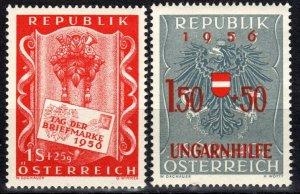Austria #B297-8  MNH CV $3.90 (X2495)