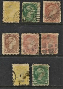 STAMP STATION PERTH Canada #8 Used Selection - Unchecked
