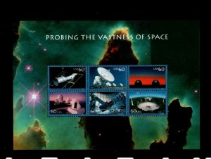 ALLY'S STAMPS US Plate Block Scott #3409 $3.60 Vastness of Space S/S MNH [FP-62]