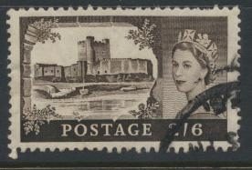 Great Britain  SG 595a SC# 371 Used  Wilding definitive  BW Printing