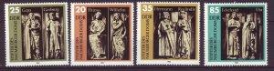 J24504 JLstamps 1983 germany DDR set mnh #2355-8 statues