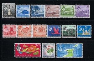 TRINIDAD & TOBAGO- SCOTT #89-102/116 1960-64 QEII PICTORIALS   MINT NEVER HINGED