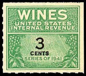 U.S. REV. WINES RE113  Mint (ID # 36083)