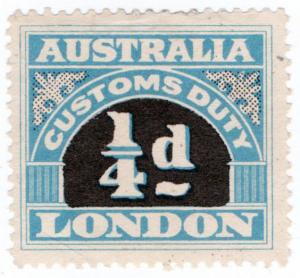 (I.B) Australia Revenue : Customs Duty ¼d