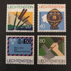 Liechtenstein 1983 #762-65 MNH SCV  $1.75