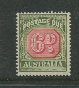 Australia - Scott J77 - Postage Due Issue -1947- Wmk 228 - MNH -Single 6d stamp