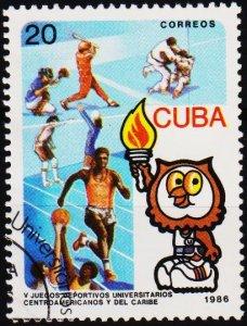 Cuba. 1986 20c S.G.3188 Fine Used
