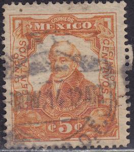 Mexico 314 USED 1910 Miguel Hidalgo