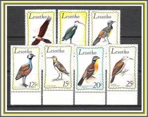 Lesotho #105-111 Birds Complete Set of 7 MNH