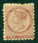 Prince Edward Island #1  Mint F-VF HR  Scott $600.00