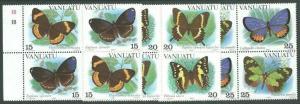 VANUATU 1983 Butterflies set in blocks MNH.................................60881