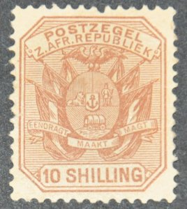 DYNAMITE Stamps: Transvaal Scott #161  – MINT hr