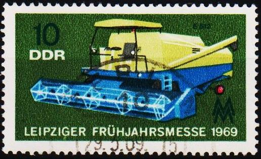Germany(DDR). 1969 10pf S.G.E1169 Fine Used