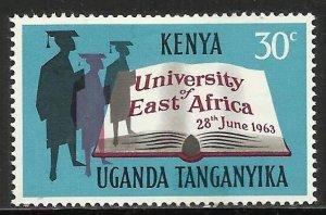 Kenya, Uganda & Tanzania 1963 Scott# 140 MH