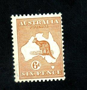 Australia #121 MINT FVF OG LH Cat$30
