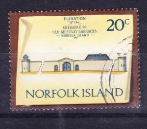 Norfolk Island 1973 Historic Buildings 20c used