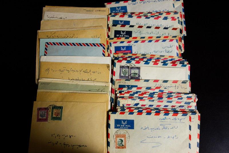 Jordan Stamps Interesting Group of 70+ Covers of the 1950's Very Clean