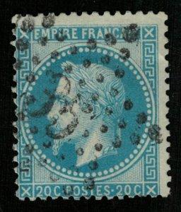 France, 1863-1870, Emperor Napoléon III, MC #28a (Т-8002)
