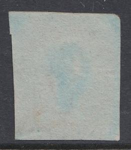 GB QV 1841 1d Lake Red 'LE' SG11 Black Maltese Cross MX CV £850