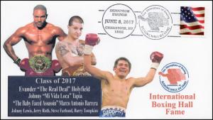 17-120, 2017, International Boxing Hall of Fame, Class of 2017, Event Cover
