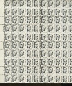 Pane of 100 USA Stamps 1862d American President Harry Truman Brookman $275