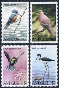 Antigua 587-591,MNH.Mi 592-595,Bl.51. Stilt,Carib,Pigeon,Kingfisher,Tern.1980.