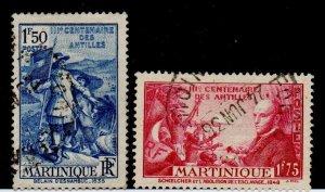 Martinique 175-176 Used