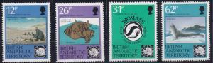 British Antarctic Territory 180-183 MNH (1991)
