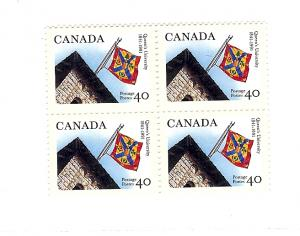Canada, 1338, Queens University, Block (4), MNH