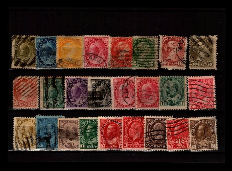 Canada 25 Used, with faults - C2795