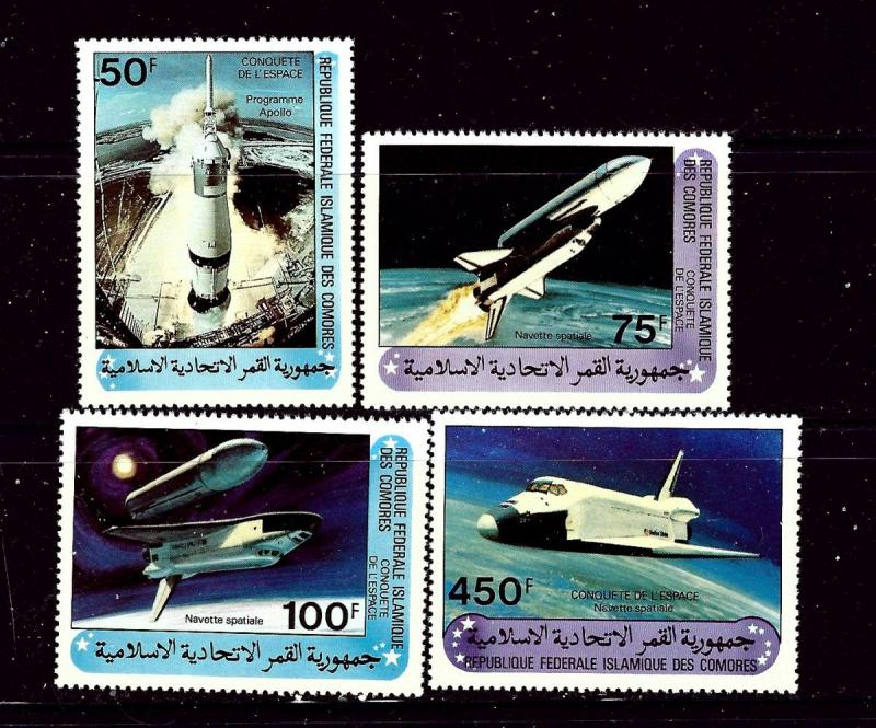 Comoro Is 517-20 MNH 1981 Space Exploration