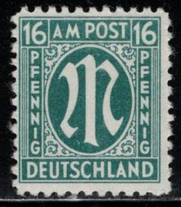 Germany AM Post Scott # 3N10, mint nh