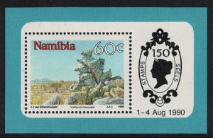 Namibia Mountains Landscapes MS SG#MS544a MI#Block 12
