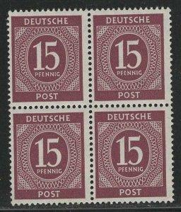Germany AM Post Scott # 540, mint nh, b/4