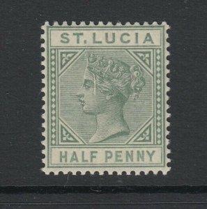 St. Lucia, Scott 27a (SG 31), MNH