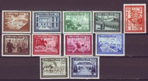 J25149 JLstamps 1939-41 nazi germany from set full mhr #b148//159 views