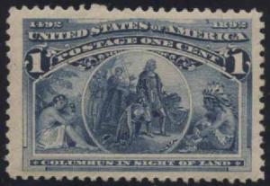 US Scott #230 Mint, VF/XF(J), NH
