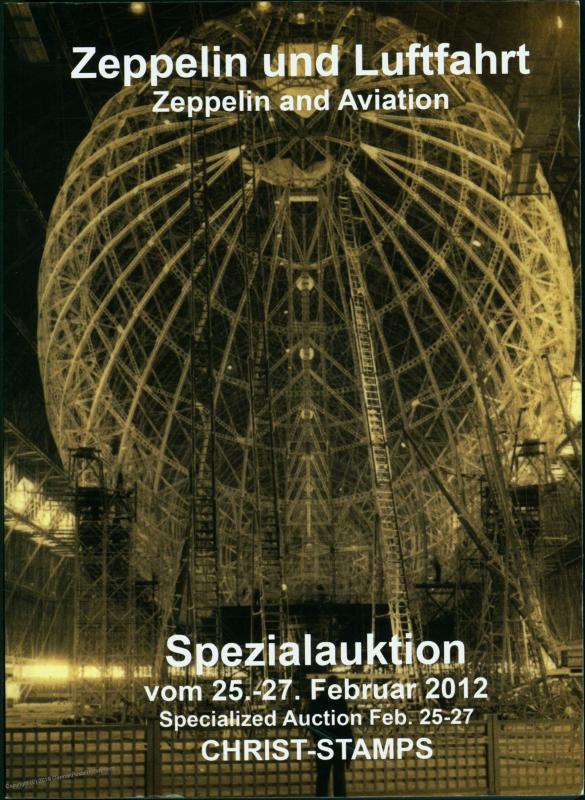 V1 Rocket Propaganda Leaflets Zeppelin Stamp Covers Book Auction Catalog 51750