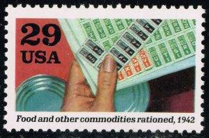 US #2697b World War II; MNH (3Stars)