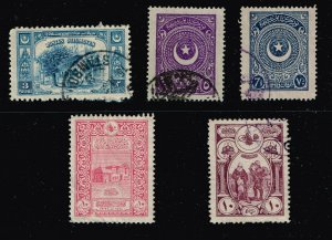 TURKEY STAMP OLD USED  STAMPS COLLECTION LOT #3