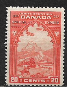COLLECTION LOT OF # E3 CANADA 1927 VERY LIGHT HINGED CV=$ 35 2 SCAN
