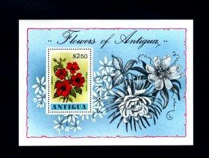 ANTIGUA - 1978 - FLOWERS - FLORA - HIBISCUS - MINT - MNH S/SHEET!