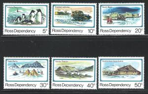New Zealand Ross Dependency  MNH s.c.# L15 - L20