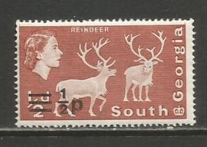 South Georgia     #17b  MNH  (1977)  c.v. $1.75