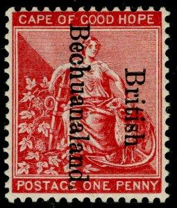 BECHUANALAND SG38, 1d carmine-red, LH MINT.