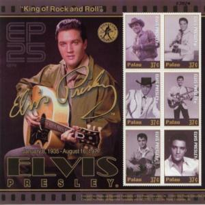 2002 Palau Elvis Presley King of Rock & Roll - MS6 698 MNH