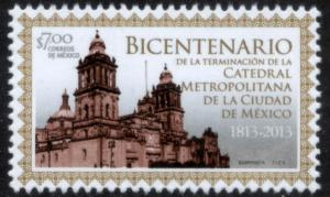 MEXICO 2830 200th Anniv. Mexico City's Cathedral. MNH