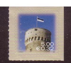 Estonia Sc559 2007 Pikk Herman Tower Euro stamp NH