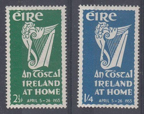 Ireland Scott 147-8 Mint NH (Catalog Value $32.50)