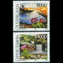 YUGOSLAVIA 1989 - Scott# 1985-6 Nature Set of 2 NH